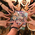 【黒ウィズ】黄昏メアレスの声優陣&トリエテリス役の大井さんが黒ウィズカフェで打ち上げ!?めっちゃ楽しそう!